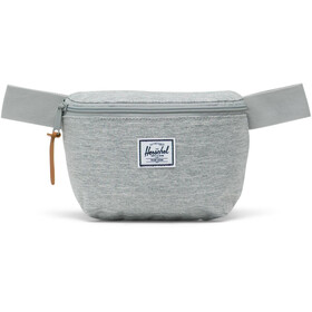 Herschel Fourteen Hip Pack light grey crosshatch